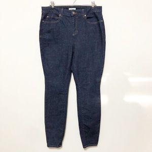 Eileen Fisher Organic Cotton Indigo Skinny Jeans